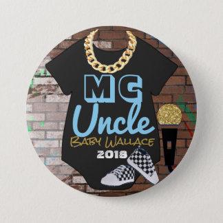 Badge Bouton de Pinback de douche de garçon de hip hop