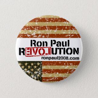Badge Bouton de révolution de Ron Paul