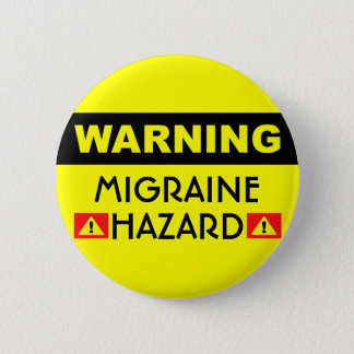 Badge Bouton de risque de migraine