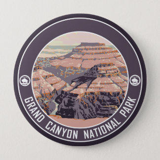 Badge Bouton de souvenir de parc national de canyon