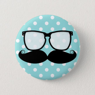 Badge Bouton de talent de moustache