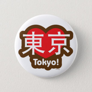 Badge Bouton de Tokyo d'amour