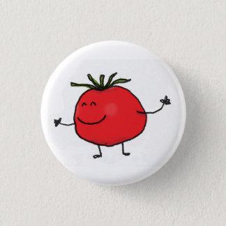 Badge Bouton de tomate