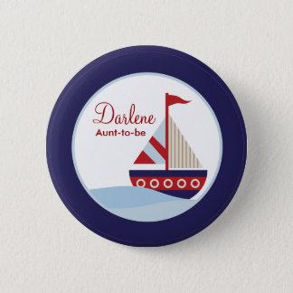 Badge Bouton de voilier