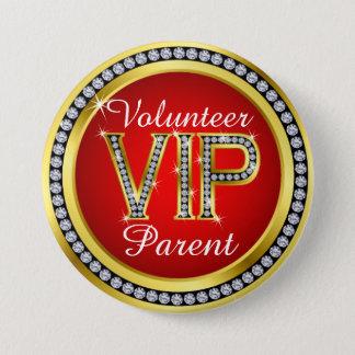 Badge Bouton de volontaire de parent de VIP - srf