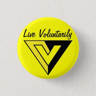 Badge Bouton de Voluntaryist