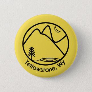 Badge Bouton de Yellowstone
