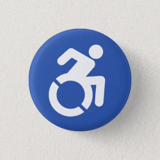 Badge Bouton d'incapacité