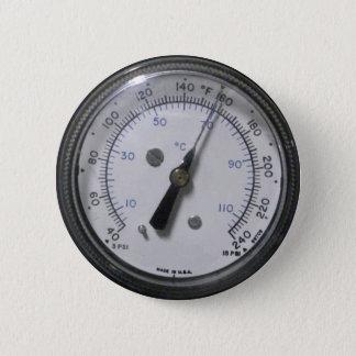 Badge Bouton d'indicateur de pression