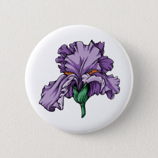 Badge Bouton d'iris