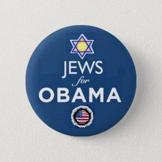 Badge Bouton d'OBAMA de JUIFS