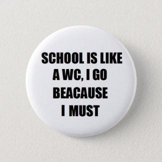 Badge Bouton drôle
