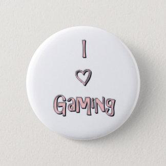 Badge Bouton du jeu I <3