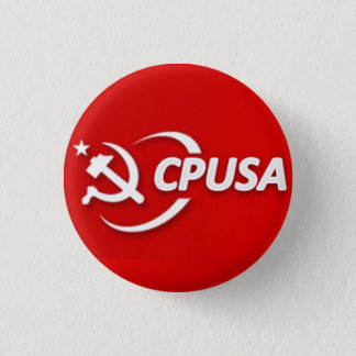 Badge Bouton du parti communiste (CPUSA)