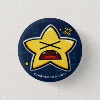Badge bouton fâché de starplexus
