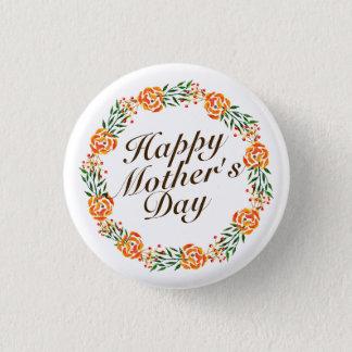 Badge Bouton floral élégant de Pin de la guirlande | du