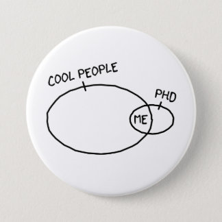 Badge Bouton frais de PhD