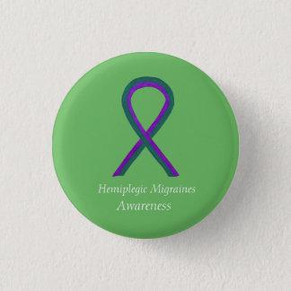Badge Bouton hémiplégique de ruban de conscience de