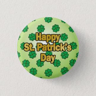 Badge Bouton heureux du jour de Patrick de saint