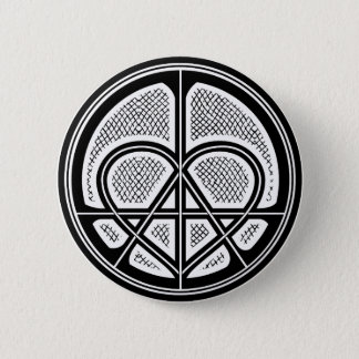 Badge Bouton humanitaire de symbole d'ANARCHIE d'AMOUR