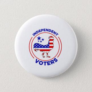 Badge Bouton indépendant d'électeurs