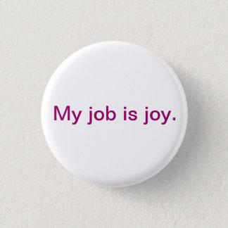 Badge Bouton inspiré - joie