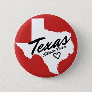 Badge Bouton juste d'état du Texas petit