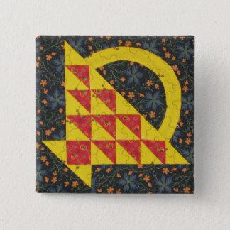 Badge Bouton lumineux de panier