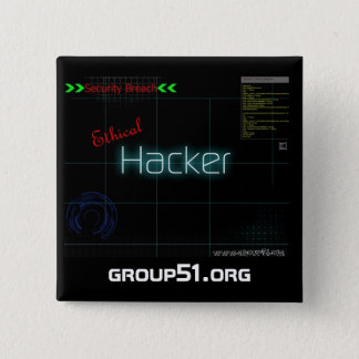 Badge Bouton moral de pirate informatique