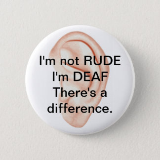 Badge Bouton non grossier mais sourd