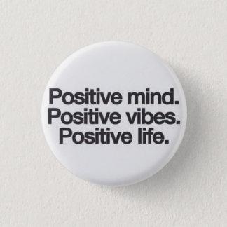 Badge bouton positif de vibe