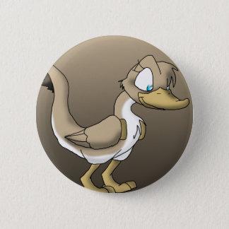 Badge Bouton reptile femelle de canard