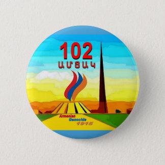 Badge Bouton rond commémoratif de génocide arménien