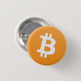Badge Bouton rond de Bitcoin