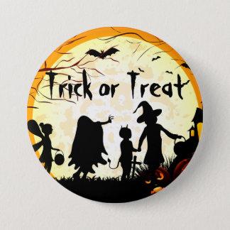 Badge Bouton rond de pouce de ¼ de Halloween 2 de des