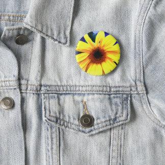 Badge Bouton rond de soleil