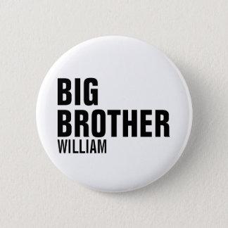 Badge Bouton rond fait sur commande de frère