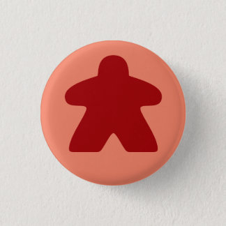 Badge Bouton rouge de Meeple
