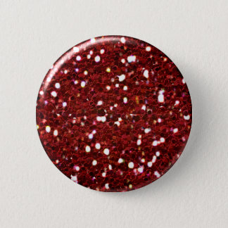Badge Bouton rouge de parties scintillantes