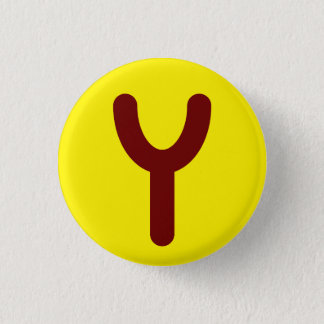Badge Bouton utopique de logo