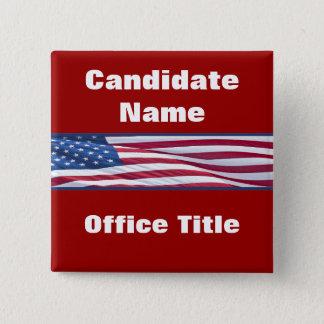 Badge Boutons politiques de campagne électorale