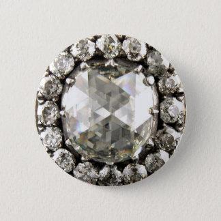 Badge Broche vintage de bijouterie fantaisie de fausse