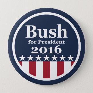 Badge Bush pour des boutons de président 2016 campagne