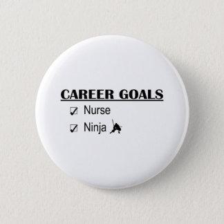 Badge Buts de carrière de Ninja - infirmière