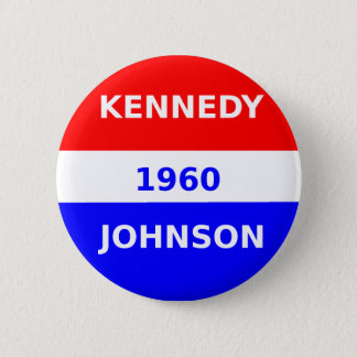 Badge button_Kennedy_And_Johnson_1960
