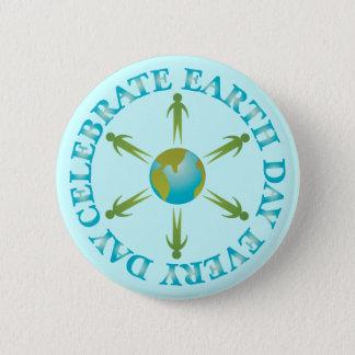 Badge Cadeau de T-shirt de jour de la terre de planète