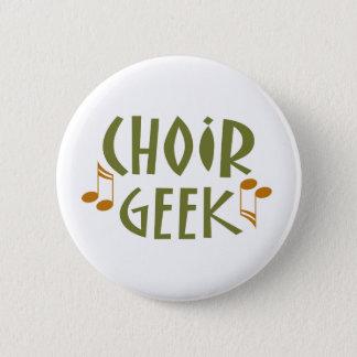 Badge Cadeau drôle de musique de geek de choeur
