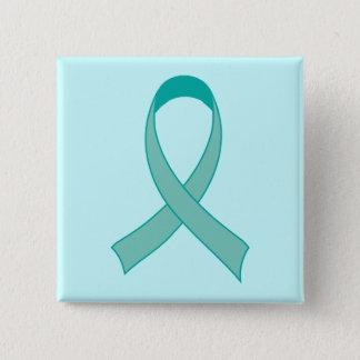 Badge Cadeau turquoise personnalisé d'aimant de