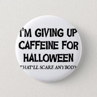 Badge Caféine pour Halloween