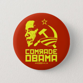 Badge Camarade Obama